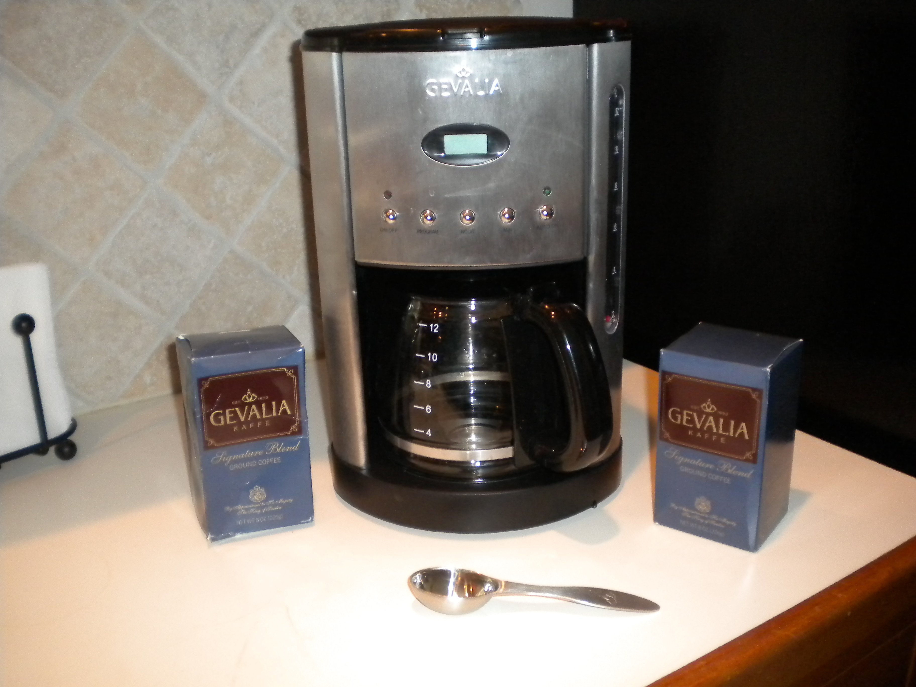 Gevalia Free Stainless Steel Coffeemaker 4 Bo Of Coffee And A
