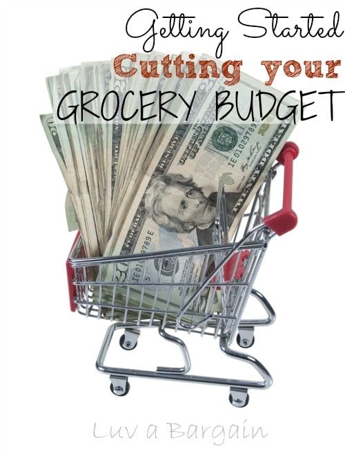Cutting your Grocery Budget