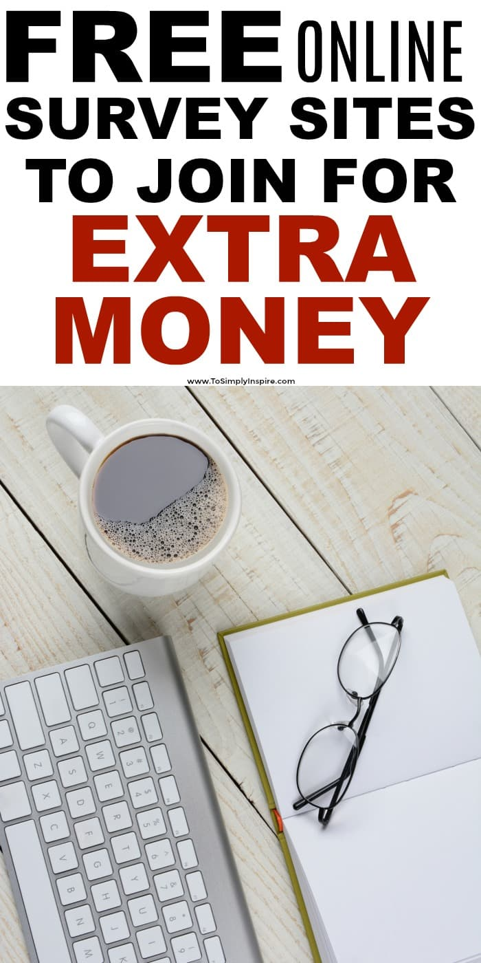 Sign up for these five free online paid surveys sites to earn a little extra money every month.