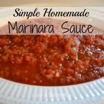 Thumbnail image for Homemade Marinara Sauce