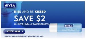 Nivea: New $2/2 Lip Care coupon and others (New links) - To Simply Inspire
