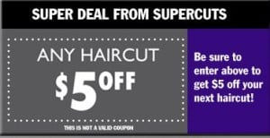 picture about Supercut Printable Coupons referred to as Tremendous Cuts: Fresh $5 Printable Coupon - Towards Just Stimulate