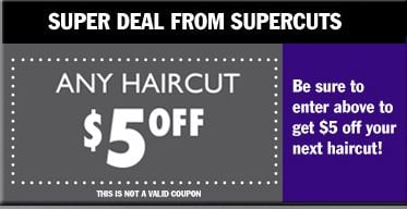 Get 27 Supercuts coupon codes and promo codes at CouponBirds. Click to enjoy the latest deals and coupons of Supercuts and save up to 30% when making purchase at checkout. Shop iantje.tk and enjoy your savings of December, now!
