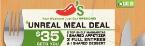 Chili's Shared Meal Deal