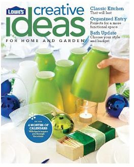 Sign Up For A Free Subscription To Loweu0027s Creative Ideas Magazine. It Is  Full Of Home Décor Ideas, Home Improvement Projects And Step By Step How To  ...