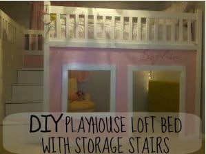 How to build a loft bed for Princess bed blueprints