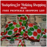 Thumbnail image for Budgeting for Holiday Shopping
