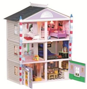 Do You Have A Little Girl On Your Gift List That Would LOVE A Dollhouse For  Christmas? This Ideal Decorate A Dream House Dollhouse Is On Sale For Just  ...