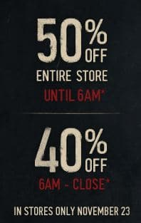 Hollister coupons for black friday