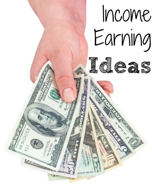 Income Earning Ideas