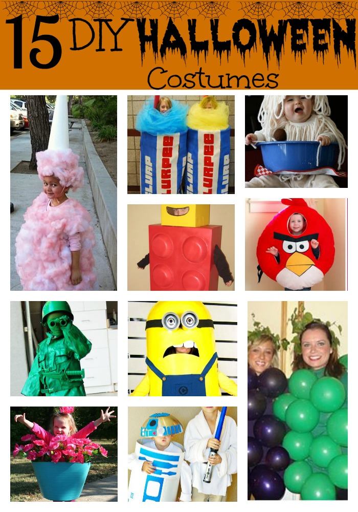 here are 15 diy kids halloween costumes that you - Halloween Costumes Diy Kids