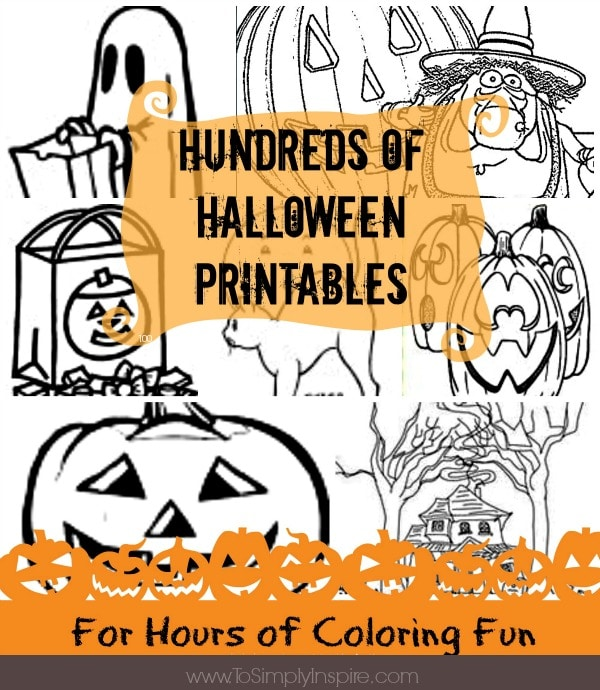 Hundreds of Free Halloween Printables
