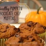 Thumbnail image for Healthy Pumpkin Chocolate Chip Muffins