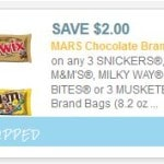 mars cany coupon