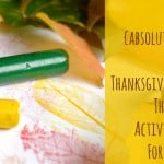 10 {Absolutely} Free Thanksgiving Activities for Kids