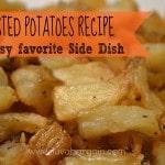 Thumbnail image for Roasted Potatoes Recipe