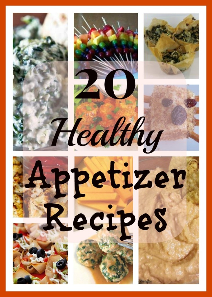20 Healthy Appetizer Recipes