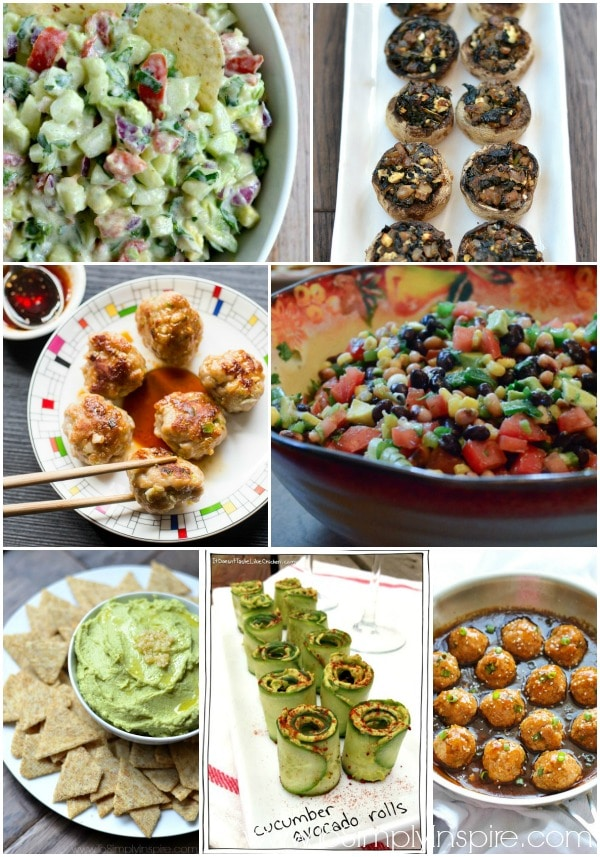 Enjoy any of these clean eating appetizer recipes for your next party or family gathering.
