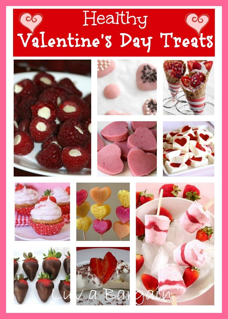 Healthy Valentine's Day Treats