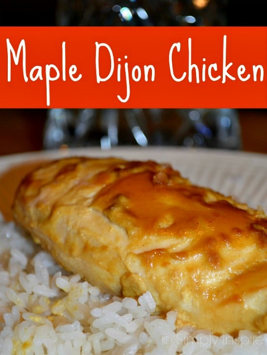 Maple-Dijon-Chicken