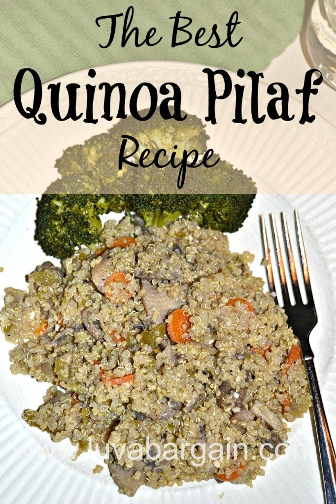 The Best Quinoa Pilaf Recipe
