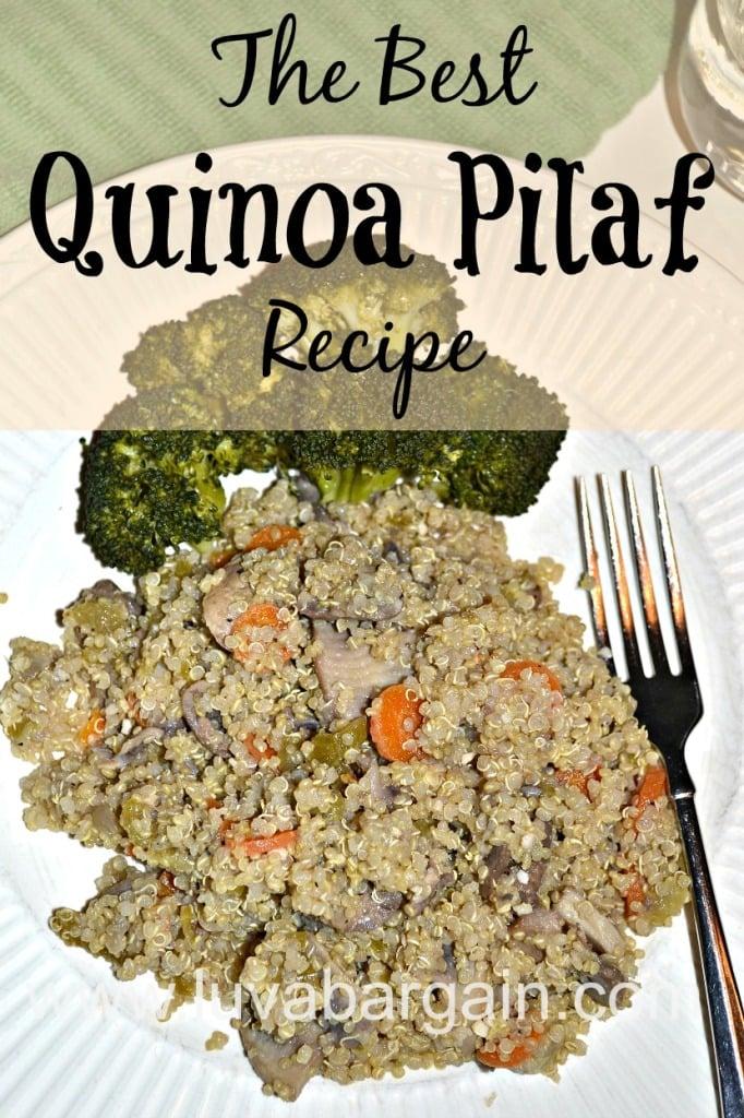 The Best Quinoa Pilaf Recipe