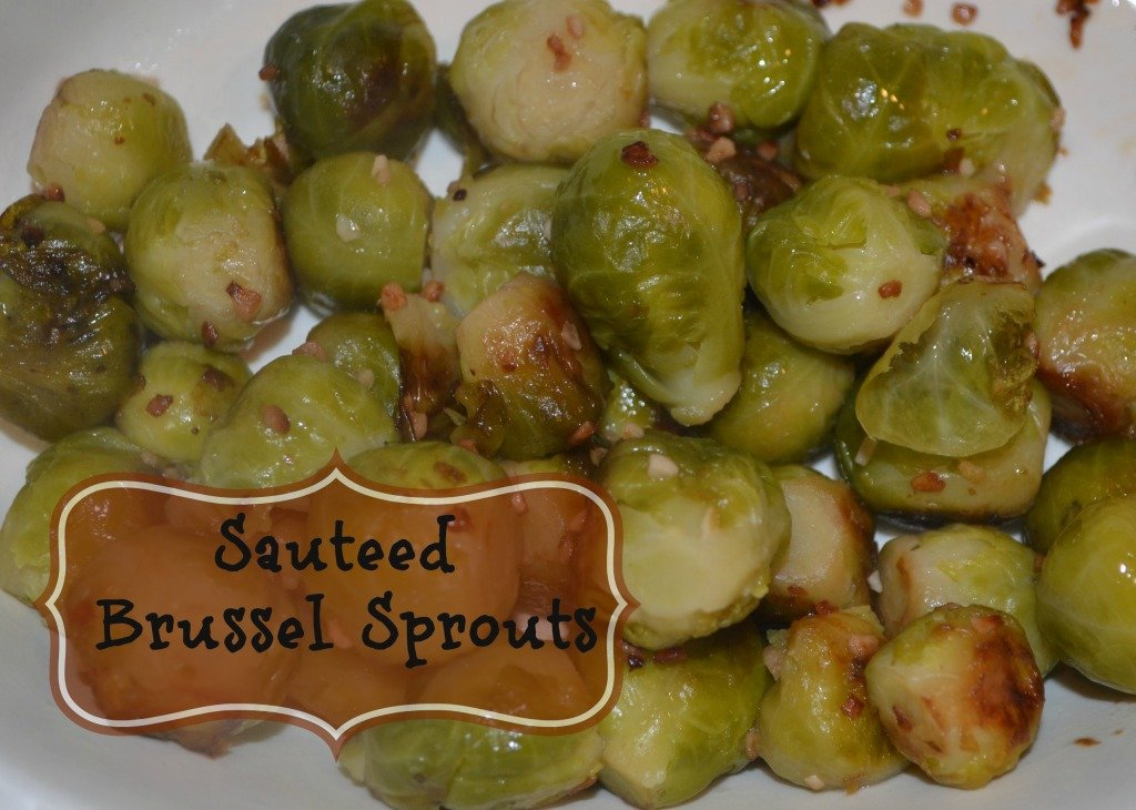 Sauteed Brussel Sprouts Recipe