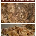 slow cooker lemon herb roasted chicken
