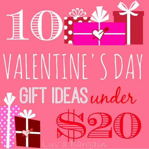10 Valentines Day Gift Ideas Under 20
