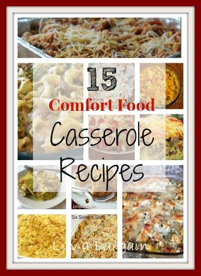 15 Comfort Food Casserole Recipes