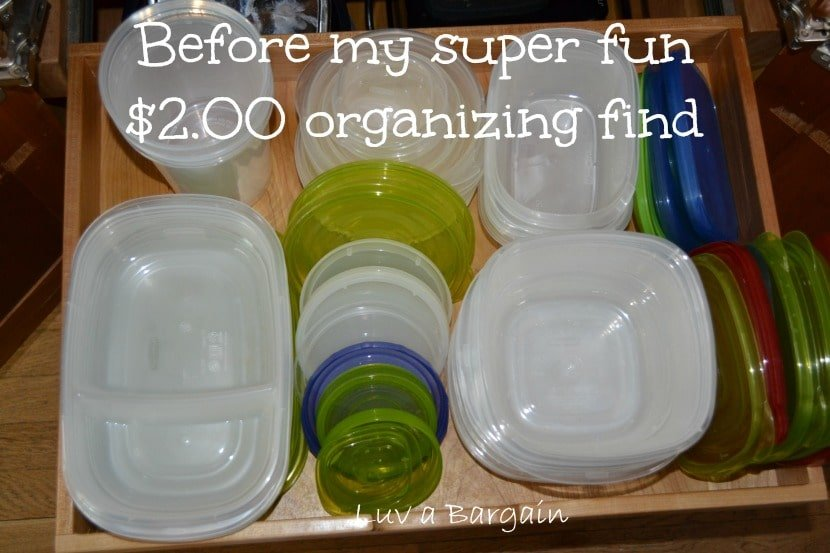 Easy Way to Organize Food Storage Containers To Simply Inspire