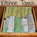 Thumbnail image for Easy Way to Organize Kitchen Towels and Dish Clothes