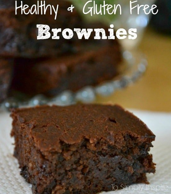 These gluten free brownies are seriously the best I have ever tasted. They are loaded with chocolatey goodness and have no refined sugar or flour.