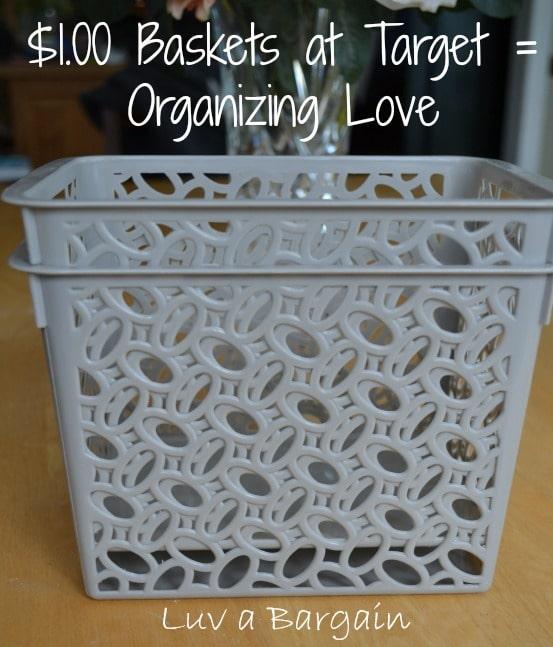 Organizing Baskets