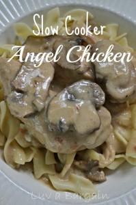 Slow Cooker Angel Chicken