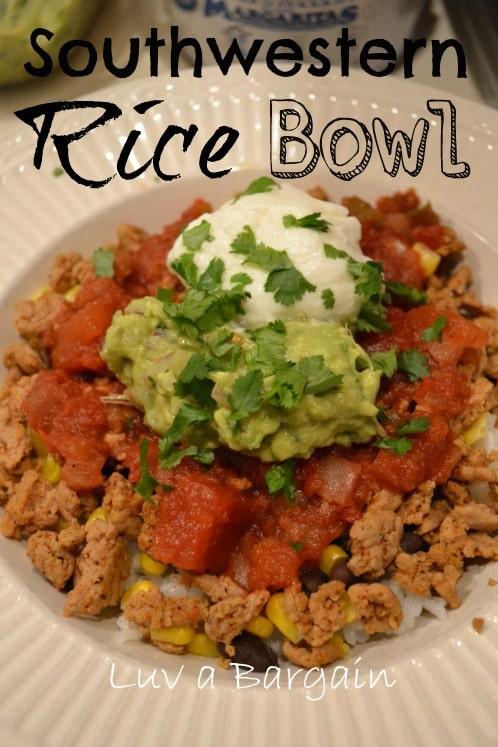 Southwestern Rice Bowl