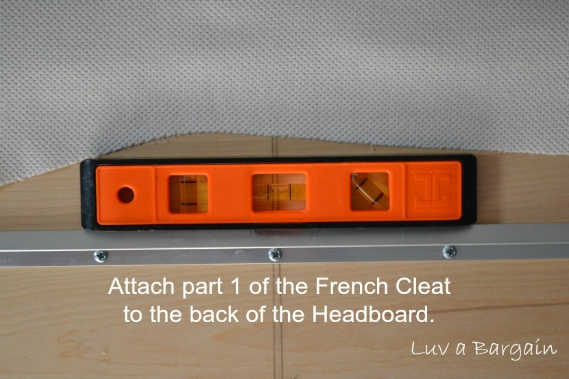 attaching french cleat