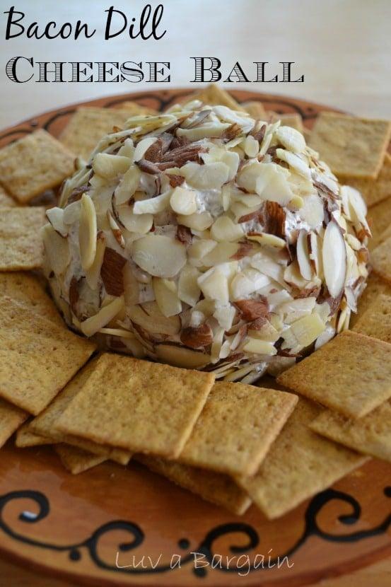Bacon Dill Cheese Ball
