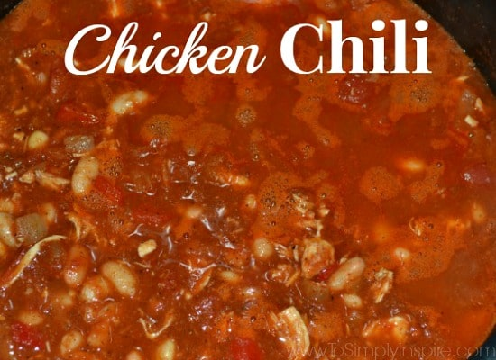 Chicken Chili Recipe