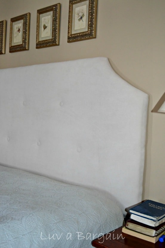 DIY Tufed Upholstered Headboard