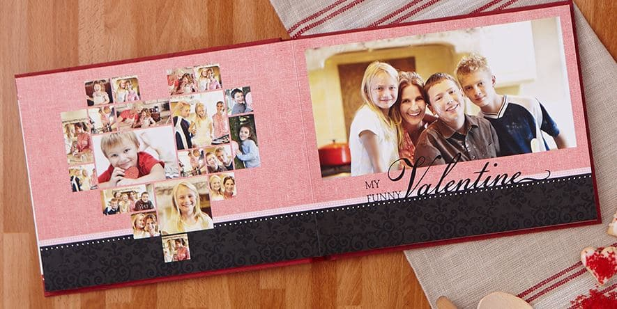 valentine photo book