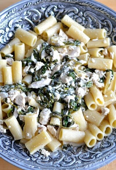 Chicken Spinach in Feta Cream Sauce3