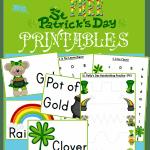 Free Saint Patrick's Day Printables