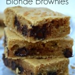 Thumbnail image for Healthy Blonde Brownies