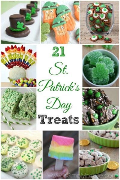St Patricks Day Treats