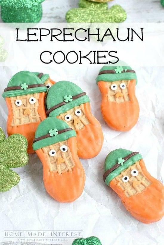 St. Patrick's Day Leprechaun Cookies