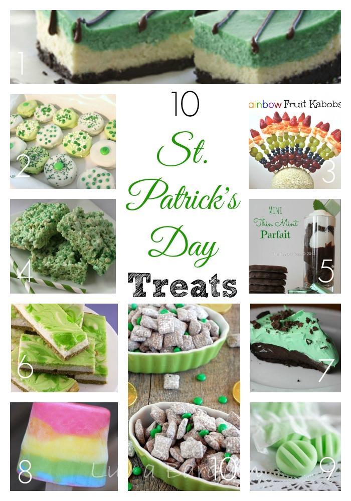 10 St. Patricks Day Treats