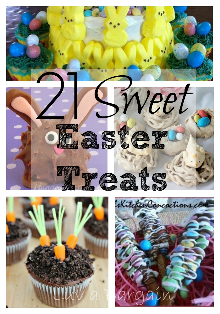 21 Sweet Easter Treats