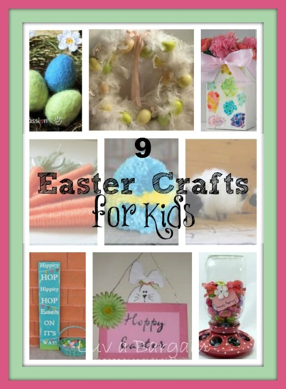 9 Easter Crafts for Kids