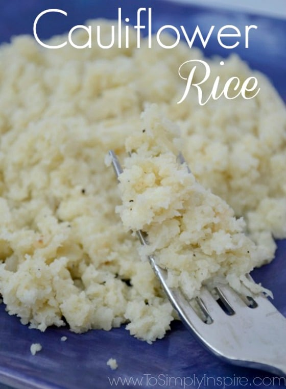 This easy Cauliflower Rice Pilaf recipe is a great healthy addition to any meal. You won't believe how wonderful this simple recipe is.